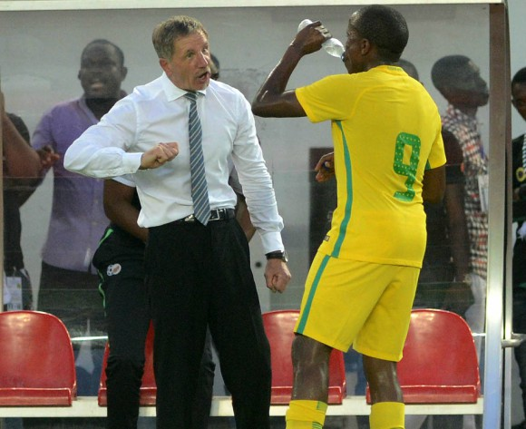 Stuart Baxter calls for the right attitude against Cape Verde