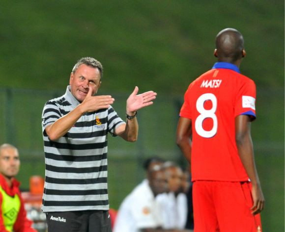 Free State Stars sack coach Troughton after two PSL matches