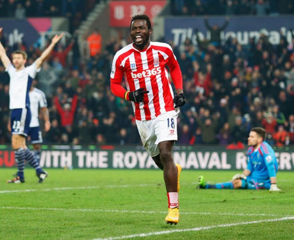 Stoke coach Hughes has tricked me, says Diouf