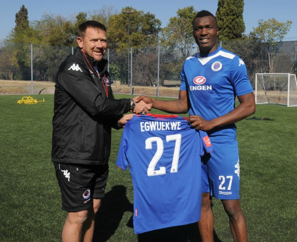 Egwuekwe clear to make SuperSport debut