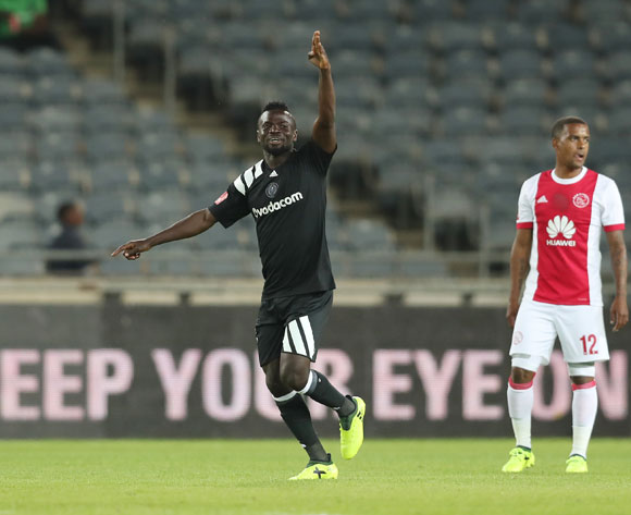 Bernard Morrison of Pirates celebrates goal during the 2017/18 Absa Premiership football match between Orlando Pirates and Ajax Cape Town at Orlando Stadium, Johannesburg on 12 September 2017 ©Gavin Barker/BackpagePix