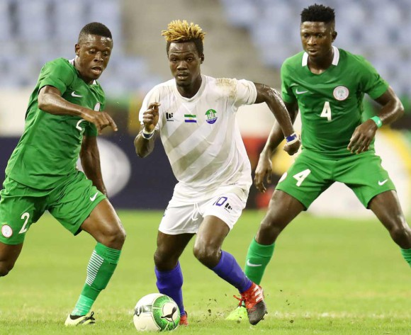 Moses parts the Sierra Leone defence to hand Nigeria victory