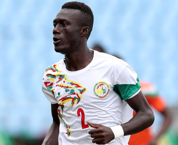 Alhassane Ndao of Senegal during 2017 WAFU Cup of Nations match between Senegal and Niger at Cape Coast Sports Stadium in Cape Coast, Ghana on 15 September 2017 ©Muzi Ntombela/BackpagePix