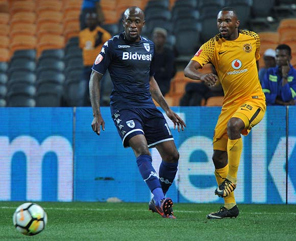 Sifiso Hlanti of Bidvest Wits challenges Bernard Parker of Kaizer Chiefs during 2017/18 Absa Premiership game between Kaizer Chiefs and Bidvest Wits at FNB Stadium on 16 September 2017@Aubrey Kgakatsi/BackpagePix