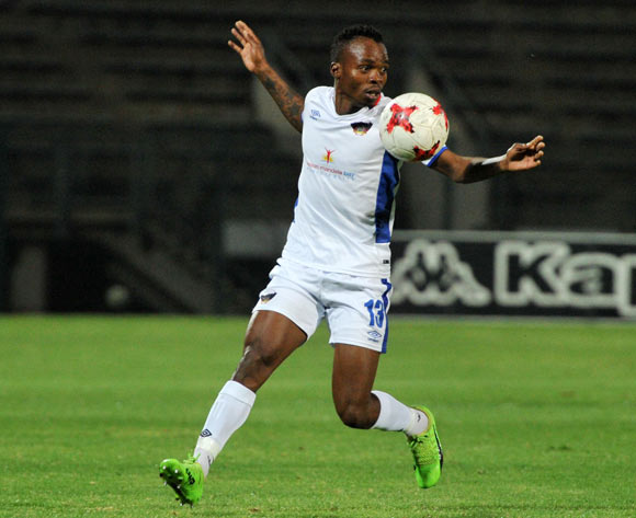 Mpho Mvelase of Chippa United during 2017/18 Absa Premiership game between Supersport United and Chippa United at Lucas Moripe Stadium on 19 September 2017@Aubrey Kgakatsi/BackpagePix