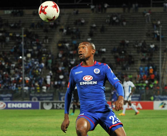 Thabo Mnyamane of Supersport United during 2017/18 Absa Premiership game between Supersport United and Chippa United at Lucas Moripe Stadium on 19 September 2017@Aubrey Kgakatsi/BackpagePix