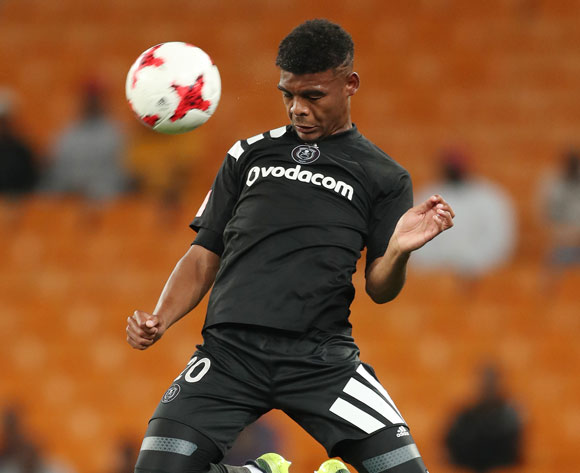 Lyle Foster of Orlando Pirates during the 2017/18 Absa Premiership football match between Orlando Pirates and Cape Town City at Soccer City, Johannesburg on 19 September 2017 ©Gavin Barker/BackpagePix