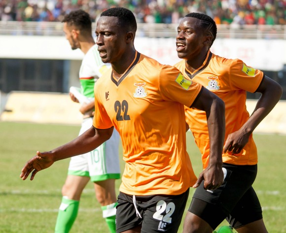 Mwila rejoices over his brace against Algeria
