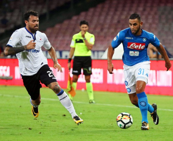 Faouzi Ghoulam's contract stance encourages Liverpool