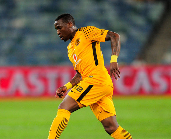 George Maluleka of Kaizer Chiefs FC during the Absa Premiership 2017/18 football match between Kaizer Chiefs and Baroka FC at Moses Mabhida Stadium, Durban on 30 September 2017 ©Gerald Duraan/BackpagePix