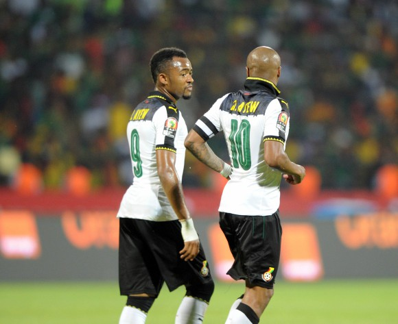 Happy birthday little brother - Andre Ayew dedicates goal to Jordan
