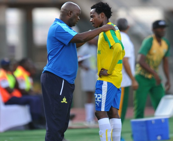 Mosimane happy to see Percy Tau shooting on sight