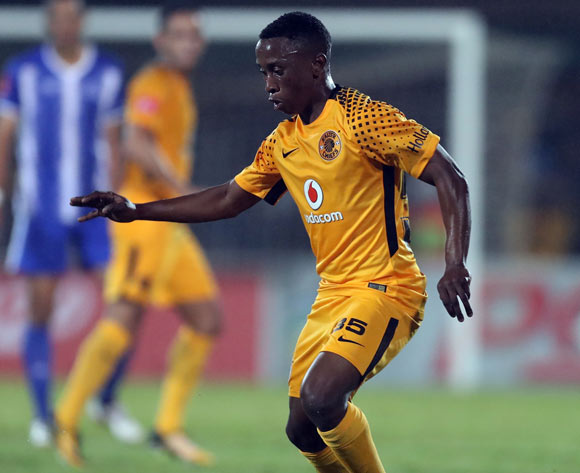 Khotso Malope of Kaizer Chiefs during the Absa Premiership 2017/18 game between Maritzburg United and Kaizer Chiefs at Harry Gwala Stadium, Pietermaritzburg on 20 September 2017 © BackpagePix