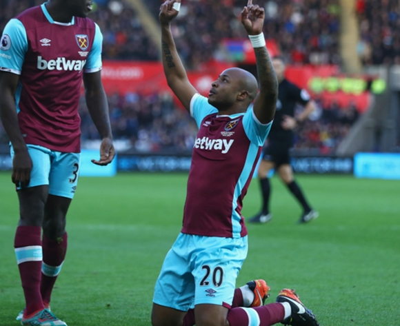 Andre Ayew ready to lead Hammers out of trouble