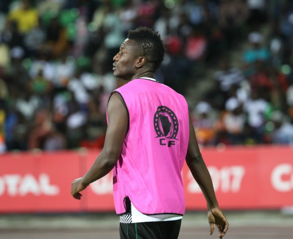 Asamoah Gyan thankful for maiden Super Lig goal
