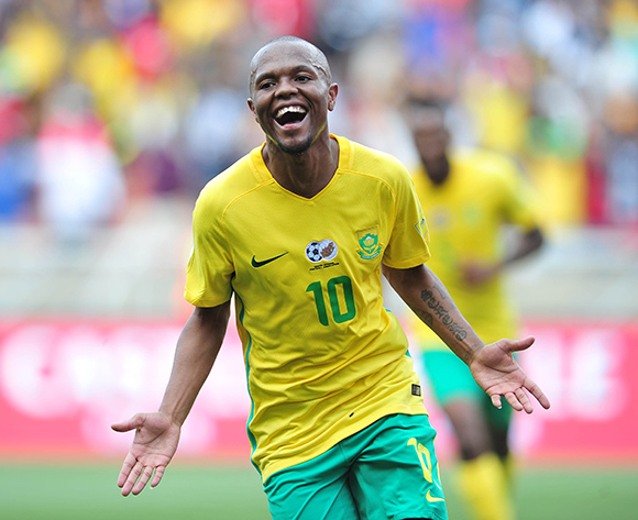 South African coach Stuart Baxter happy with Thulani Serero's progress