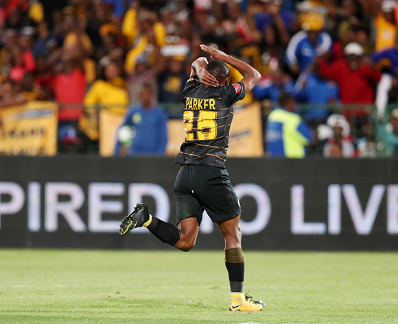 Bernard Parker of Kaizer Chiefs celebrates goal during the Absa Premiership 2017/18 match between Mamelodi Sundowns and Kaizer Chiefs at Loftus Versveld Stadium in Pretoria, South Africa on 17 October 2017 ©Muzi Ntombela/BackpagePix