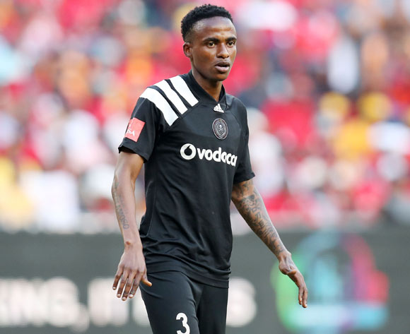 Thembinkosi Lorch of Orlando Pirates during the Absa Premiership 2017/18 match between Kaizer Chiefs and Orlando Pirates at FNB Stadium in Johannesburg, South Africa on 21 October 2017 ©Muzi Ntombela/BackpagePix