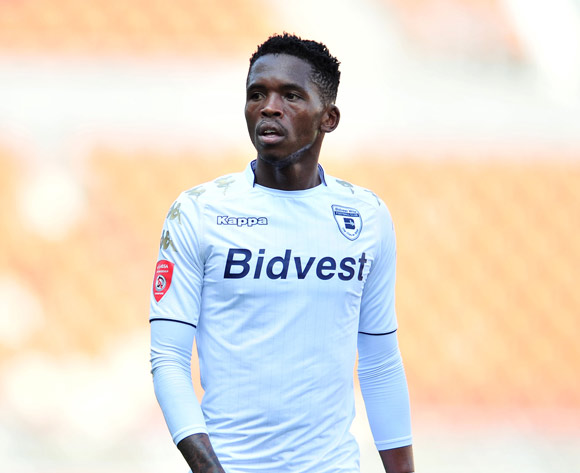 Thabang Morene of Bidvest Wits during the Absa Premiership 2017/18 football match between Baroka and Bidvest Wits at Peter Mokaba Stadium, Polokwane on 22 October 2017 ©Samuel Shivambu/BackpagePix