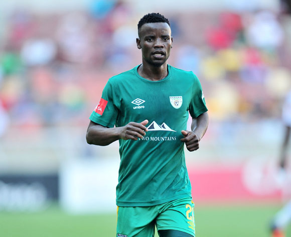 Sipho Moeti of Baroka FC during the Absa Premiership 2017/18 football match between Baroka and Bidvest Wits at Peter Mokaba Stadium, Polokwane on 22 October 2017 ©Samuel Shivambu/BackpagePix