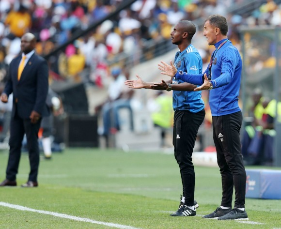 Orlando Pirates coach not worried by winless streak
