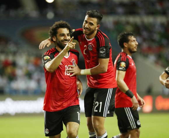 Mohamed Salah brace sends Egypt to Russia
