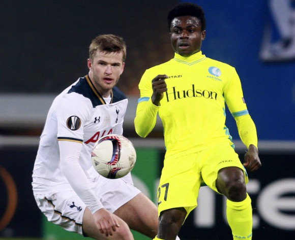 Nigeria star Moses Simon watched by major clubs' scouts