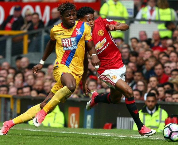 Wilfried Zaha: Crystal Palace can beat anyone