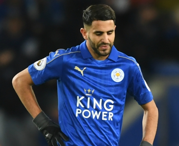 Leicester City boss plays down Riyad Mahrez strop