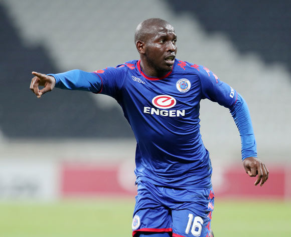Aubrey Modiba of Supersport United during the Absa Premiership 2017/18 match between Supersport United and Ajax Cape Town at Mbombela Stadium, Mpumalanga South Africa on 29 November 2017 ©Muzi Ntombela/BackpagePix
