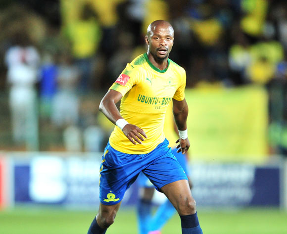 Tebogo Langerman of Mamelodi Sundowns during the Absa Premiership 2017/18 football match between Bidvest Wits and Mamelodi Sundowns at Bidvest Stadium, Johannesburg on 21 November 2017 ©Samuel Shivambu/BackpagePix