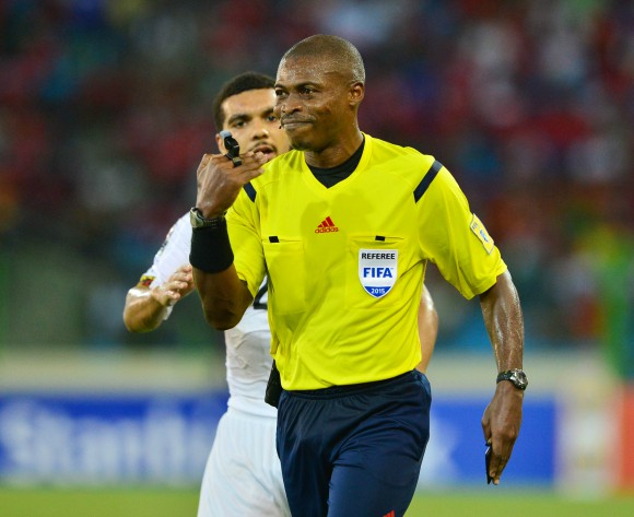 Referee explains why he gave a penalty in the Nigeria versus Algeria World Cup qualifier clash