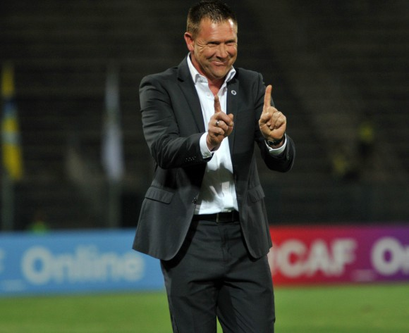 SuperSport coach happy to have away goal in the bag