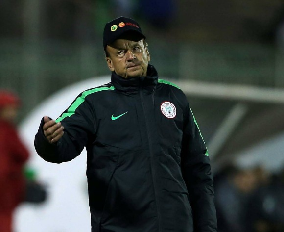 Gernot Rohr delighted with Nigeria's depth