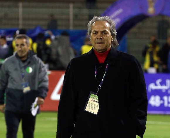 New Algerian coach Rabah Madjer happy with  performance against Nigeria