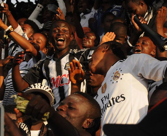 CAF fines TP Mazembe and SuperSport United for pitch invasion in Confed Cup final