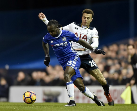 Chelsea's Nigerian star Moses resumes training