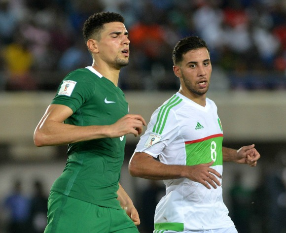 Nigeria's Leon Balogun struggled because of fitness against Argentina