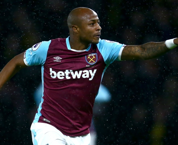 Andre Ayew praises West Ham fans after defeat to Arsenal