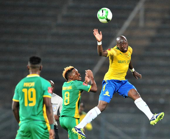 Hlompho Kekana of Mamelodi Sundowns during the Absa Premiership 2017/18 football match between Mamelodi Sundowns and Baroka FC at Lucas Moripe Stadium, Pretoria on 05 December 2017 ©Samuel Shivambu/BackpagePix