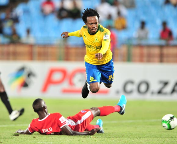 Percy Tau leads Sundowns past Maritzburg