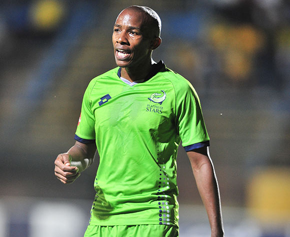 Sibusiso Msomi of Platinum Stars during the Absa Premiership 2017/18 football match between Bidvest Wits and Platinum Stars at Bidvest Stadium, Johannesburg on 16 December 2017 ©Samuel Shivambu/BackpagePix