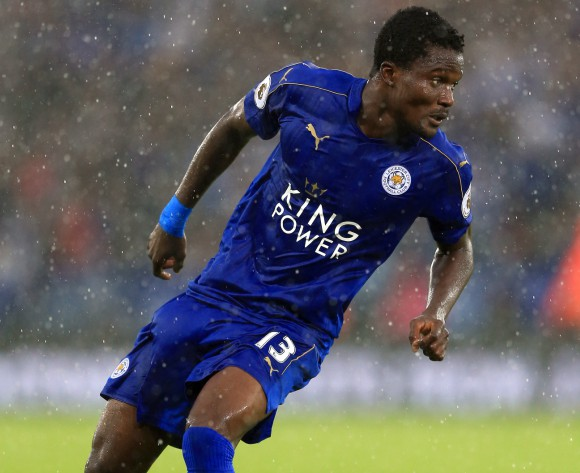 Daniel Amartey sees red, edges closer to Foxes exit