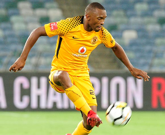 Bernard Parker of Kaizer Chiefs FC controls the ball midair during the Absa Premiership 2017/18 game between Kaizer Chiefs and Ajax Cape Town at Moses Mabhida Stadium, Durban on 16 December 2017 © Gerhard Duraan/BackpagePix