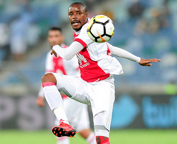 Toriq Losper of Ajax Cape Town F.C. during the Absa Premiership 2017/18 game between Kaizer Chiefs and Ajax Cape Town at Moses Mabhida Stadium, Durban on 16 December 2017 © Gerhard Duraan/BackpagePix