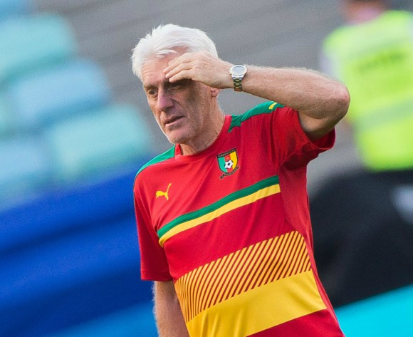 Hugo Broos fired as Cameroon coach