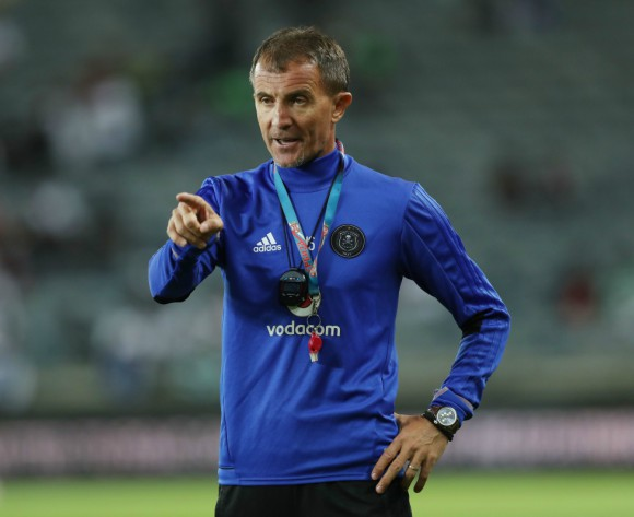 Pirates coach praises SuperSport after goalless stalemate