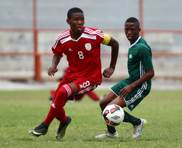 Ten-man Lesotho beat Namibia to go top of Group C