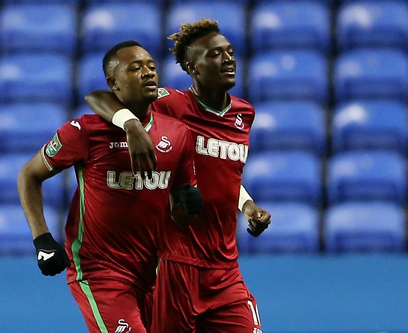 Ayew brothers on target in England