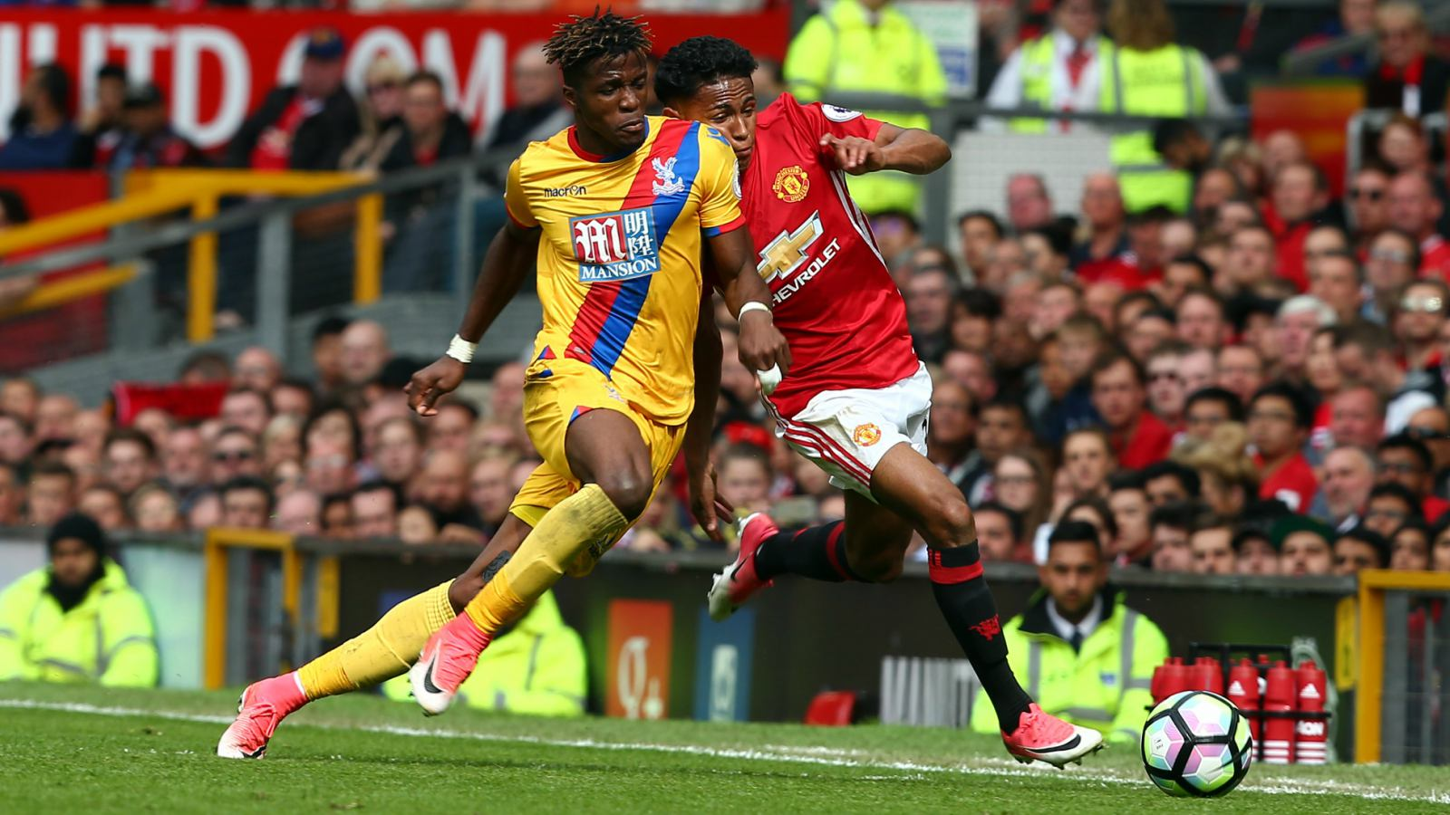 Ivorian Zaha named Crystal Palace Player of the Month